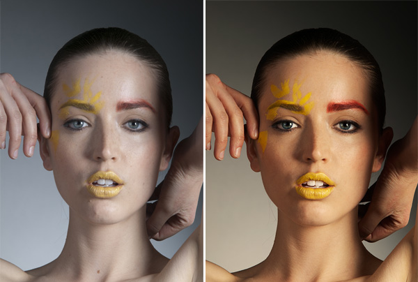 Before & After Modle Retouching