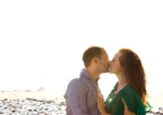 Amanda & Ryan Engagement Photo Shoot Santa Monica